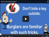 how to Discourage Burglars Video